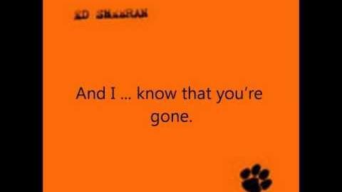 Ed sheeran - In Memory