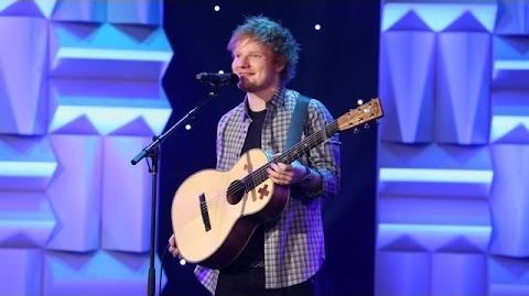 Ed Sheeran Performs 'All of the Stars'