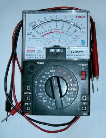 File:Analog Multimeter.jpg