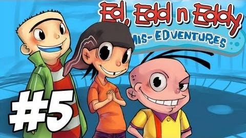 Ed, Edd n Eddy The Mis-Edventures Walkthrough Ed on Arrival Part 5 (Xbox PS2 Gamecube)