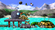 Smash brothers melee screenshot1