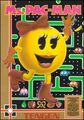 NES Tengen Ms Pac-Man Game Box