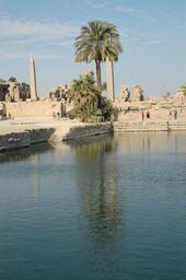 Tempio di Karnak lago sacro