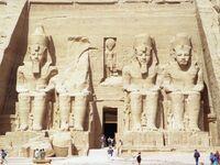 Statues of Rameses II, Abu Simbel, Egypt.jpg