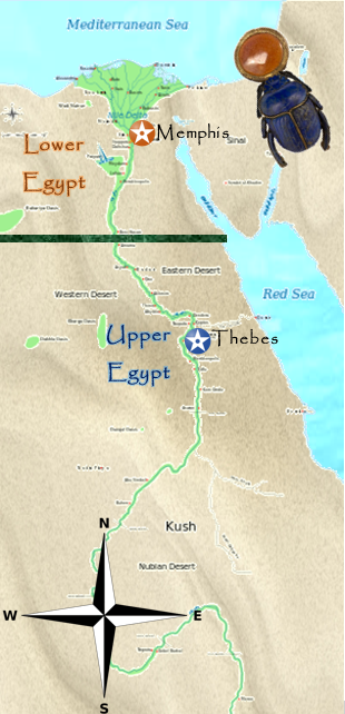 Upper And Lower Egypt Ancient Egypt Wiki FANDOM Powered By Wikia - Map of upper egypt