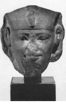 Early Twelfth Dynasty Pharaoh bust, Gallatin Collection