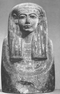 Gallatin Bust, Dier el-Medina