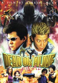 Dead or alive final dvd