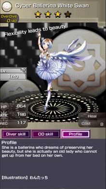 0289 Cyber Ballerina White Swan (2)