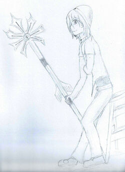 Kori Eilimint Goddess Sketch