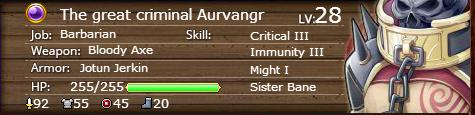 The great criminal Aurvangr 28