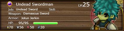 Undead Swordsman 25
