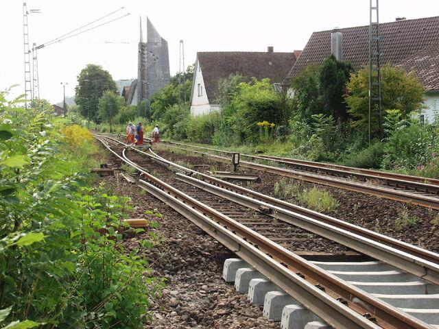 Datei:Lorch Westen Weichen vor Umbau.jpg