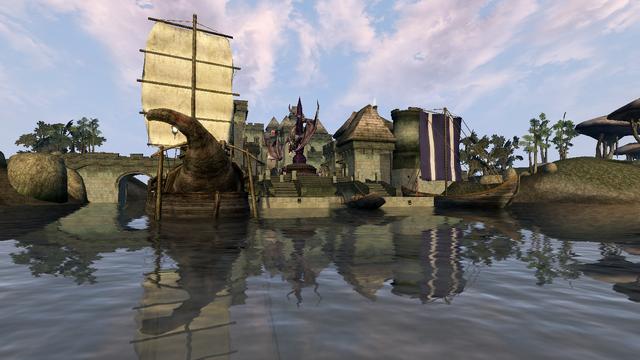 File:Ebonheart waterfront - Morrowind.png