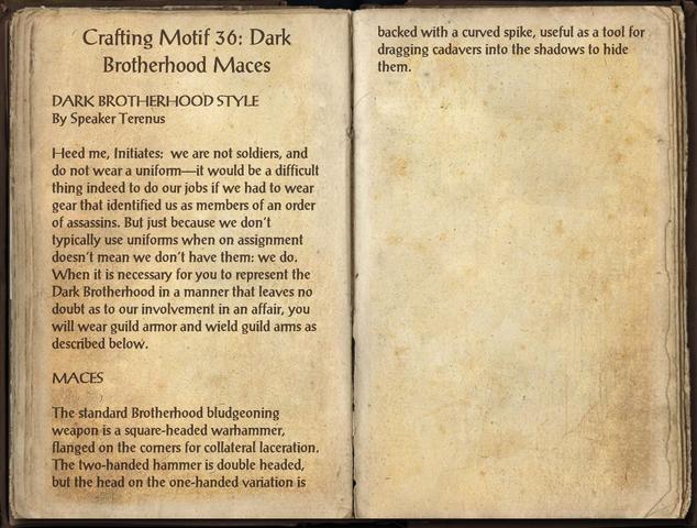 File:Crafting Motifs 36, Dark Brotherhood Maces.png