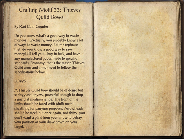 File:Crafting Motifs 33, Thieves Guild Bows.png