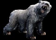 Gray War Bear Collectible