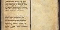 Teldur's Journal