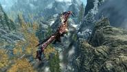 Soaring Legendary Dragon