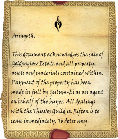 File:Goldenglow Bill of Sale One Page One.png