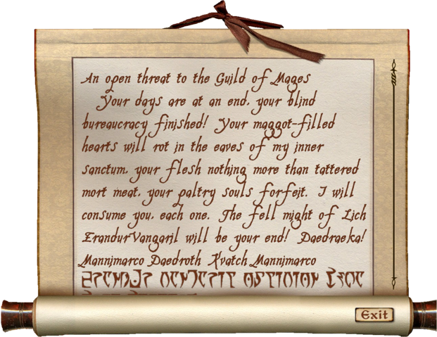 File:Letters to the Guild of Mages Letter Three.png