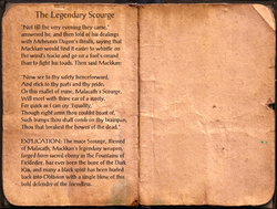 The Legendary Scourge