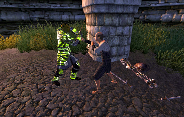 File:Caught in the Hunt Kurdan About to Kill Aleron.png