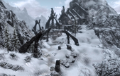 Path Bleak Falls Barrow