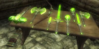 Glass Weapons (Oblivion)