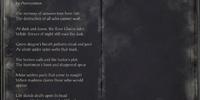 Song of Despair