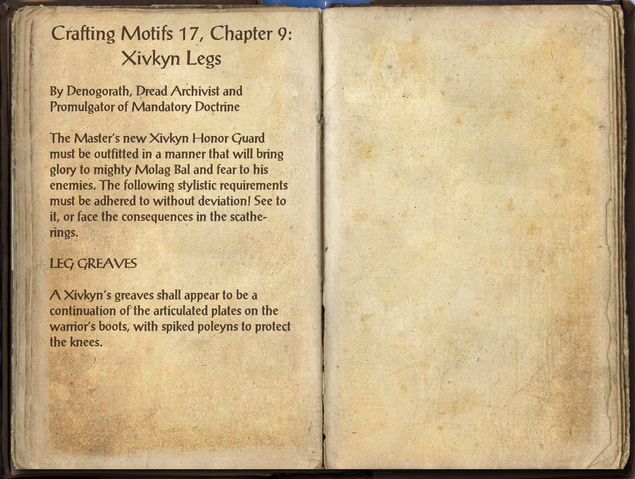 File:Crafting Motifs 17, Chapter 9, Xivkyn Legs.png