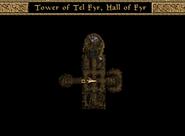 Tower of Tel Fyr, Hall of Fyr Map Morrowind