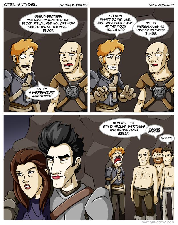 Skyrim Comic Image 1