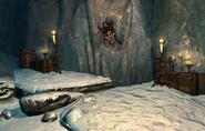Karstaag's Skull in Glacial Cave