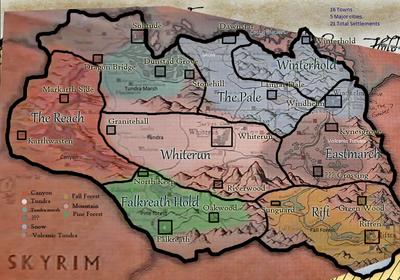 Skyrim-map