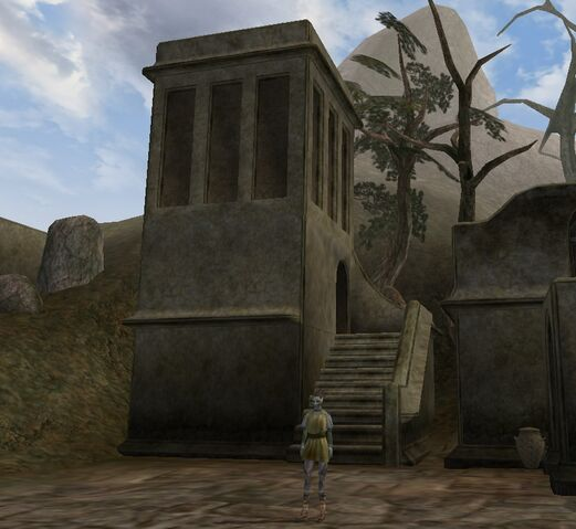 File:TES3 Morrowind - Balmora - Eastern Guard Tower exterior.jpg