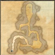 Ashimanu Cave Map