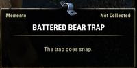 Battered Bear Trap