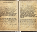 Call to the Faithful