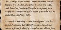 Bandit's Letter