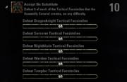 Accept No Substitute Achievement