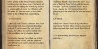 Tommy Bones's Journal