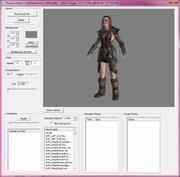 Aela the huntress 3D program 1