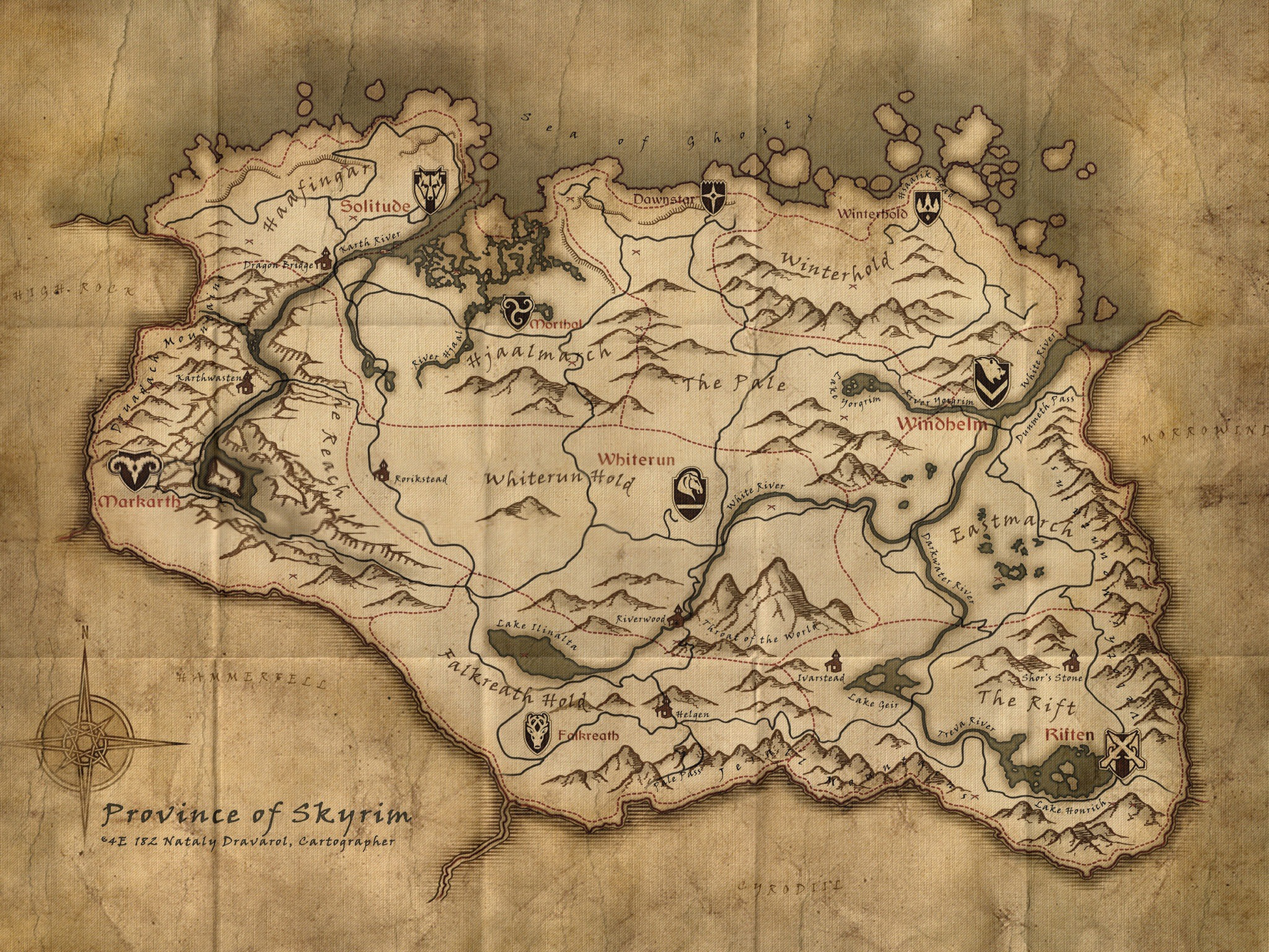 File:Skyrim Map.jpg