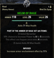 Armor of Rage - Helm 26