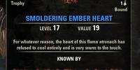Smoldering Ember Heart