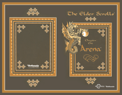 The Elder Scrolls Arena Manual