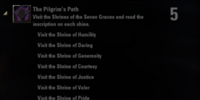 The Pilgrim's Path (Achievement)