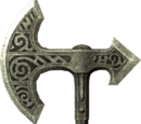 Lunar Steel War Axe