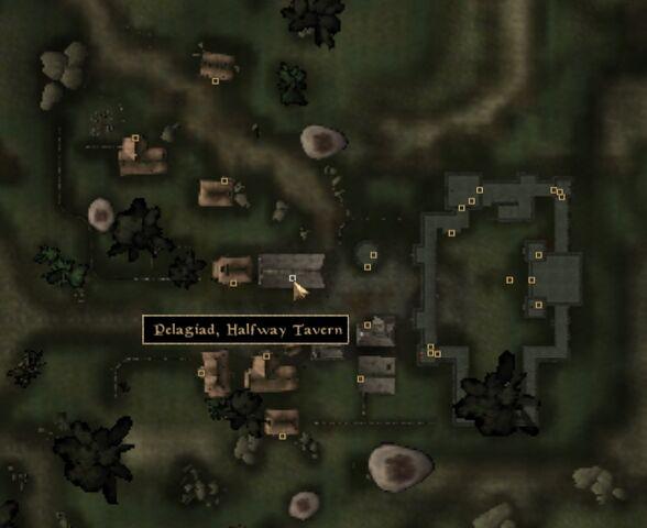 File:TES3 Morrowind - Pelagiad - Halfway Tavern - location map.jpg
